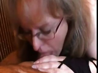 Mature Amateur Takes Care Of Husband Shaved Cock