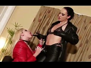 Hot Cougars In Leather Playtime And Tease