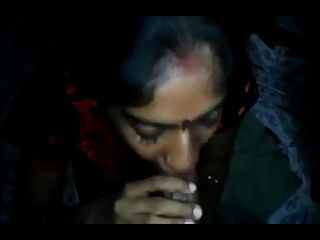 Newly Wed Indian Couple Blowjob