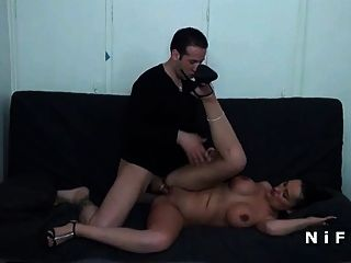 Huge Boobed Arab Milf Hard Banged In Doggystyle