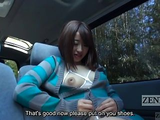 Japanese Av Public Nudity Walking Man On Leash Subtitled