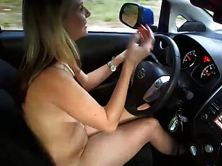 Blonde Whore On The Road