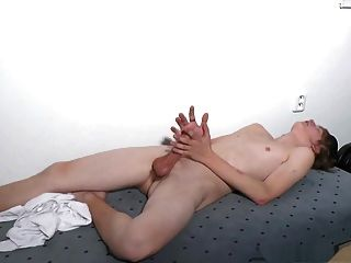 Young Hairless And A Beautifull Uncut Cock