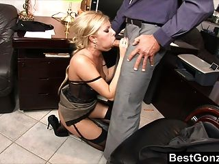 Naughty Secretary Horny At Work