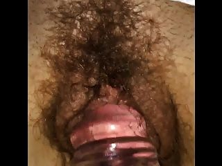 Slut Wife Claire Gets A Dildo In Her Wet Hairy Pussy