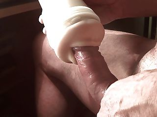 Beach fleshlight penis sperm and voyeur