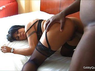 Busty Black Cock Loving Meximilf Gabby Quinteros