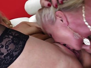 Two Old Slut Mothers Fucked By Old Black Cock