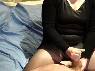 Handjob By Wife, Great Shot