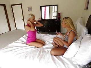 Natasha Voya And Carmen Caliente Pussy Licking