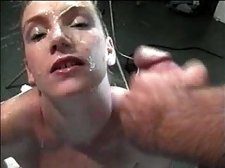 Kitty Covered In Cum