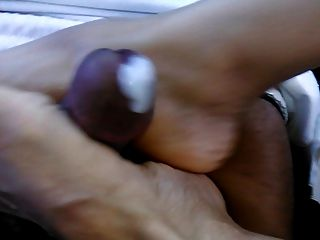 Footjob With A Happy Ending