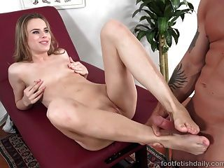 Jillian Janson Loves Her Feet Worshiped