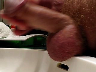 Close Cumshot My Hairy Big Cock Now