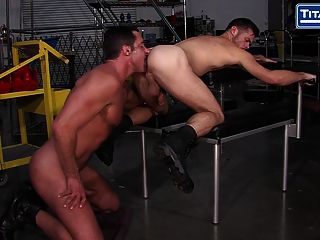 Mike Demarko Gets Fucked By Nick Capra On Titanmen!