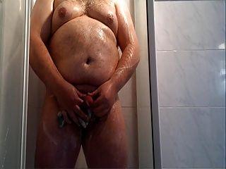 Fat Guy Shower