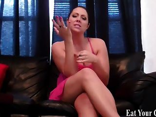 Your Princess Commands You To Eat Your Own Cum Cei