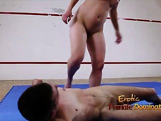 Sex Wrestling Fight Leading To Doggy Fuck