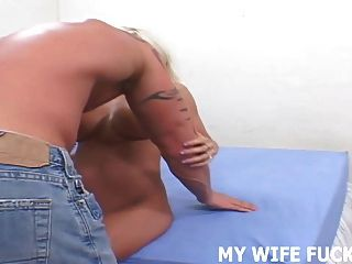 Watch Your Wife Getting Fucked By An Experienced Stud