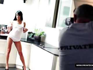Samantha Joons Private Casting. Dp In Her...