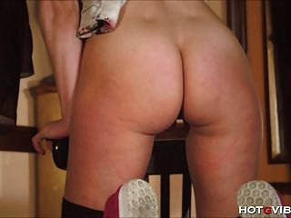 Lovely Little Exhibitionist Orgasms