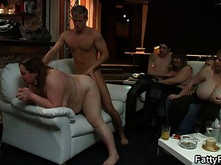 Party Sex And Fisting With Busty Plumper
