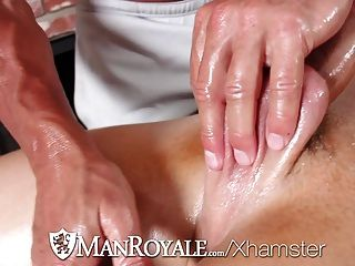 Manroyale - Presley Wright Gets A Face Full Of Cum