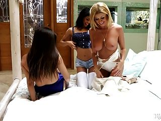 Natalie Monroe, Veronica Rodriguez And Lisa Daniels