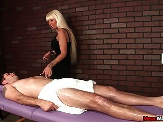 Hot Milf Dominant  Handjob Session
