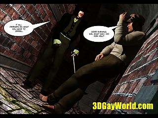 Lord Randolph And Hot Man Meat In An Alley 3d Gay Comics