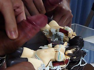 Asuka Figure Bukkake 2-1