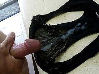 cum on panties compilation
