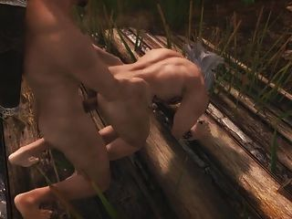 Perils of escaped skyrim slavegirl 09 - 4 1