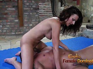 Alfa Female Adri Ruining Boyfriends Orgasm
