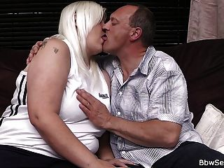 He caught cheating with hot blonde bbw