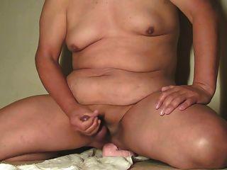 Masturbating & Cumming With Riding Big Dildo Dec-30-2014