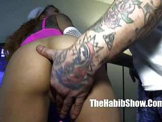 Hood Rican Tatoo Fucks Petite Asian Kimberly Chi In The Proj