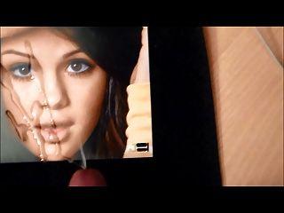 Selena Gomez Cumcovered No.8