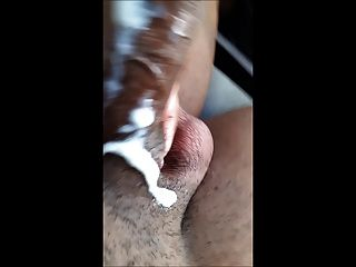 Cumming In The Car After Outside Exposure