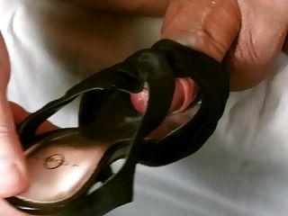 Cum In Wife Black High Heels
