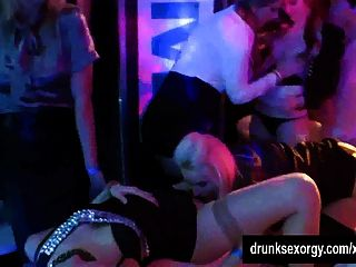 Lesbian Party Hoes Lick Pussies In Public