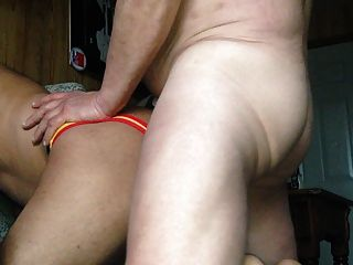 Top Daddy Bends Me Over On The Seat