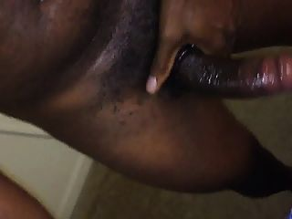 Lubed Bbc With Cock Ring (no Cum)