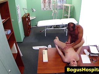 Russian Tourist Pussyfucked By Doctors Dick