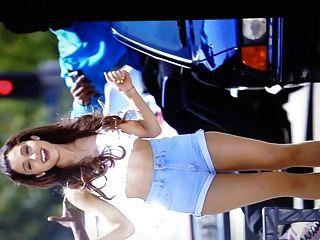 Ariana Grande Daisy Dukes And Pantyhose Cum Tribute