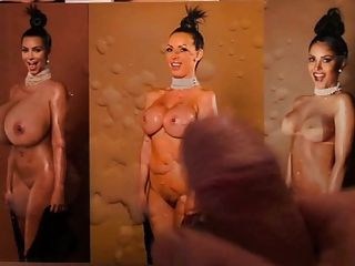 Kim Kardashian Triple Cum Tribute