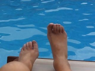 Nikki Ladyboys Hilton Hotel Pool