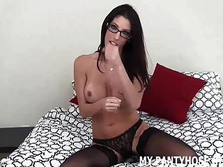 Are My Pantyhose Making Your Dick Hard Joi