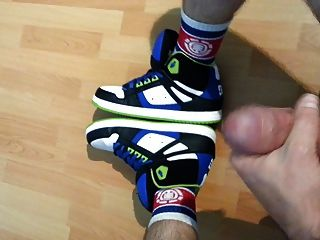 Jerking With My Dc Sneakers