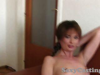 Castingxxx Shy Amateur Gets Spunk On Her Pussy